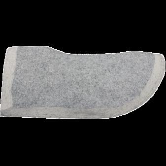 Pad mit ausgearbeitetem Rücken